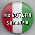 Image of 1983.6.285 G. McGovern & R.S. Shriver campaign button 1972