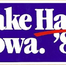 Image of 1987.55.4.2 G. Hart (Dem. candidate) campaign bumpersticker 1988
