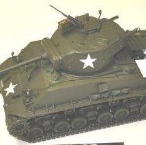 Image of 2004.69.33 model sherman tank