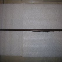 Image of EH 378 Cane with carving