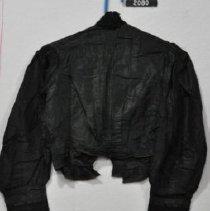 Image of 2080 Blouse, Black, back