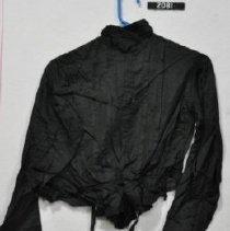 Image of 2081 Blouse, Black silk. back