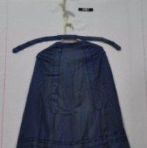 Image of 3461 Skirt dark blue, front