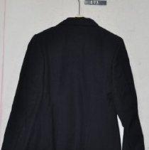 Image of 413 Jacket, Navy Blue wool uniform of US Naval Rserve, back