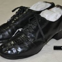 Image of 420 Shoes, Black lace up, apoxford, WWII style
