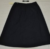 Image of 424 Skirt, Navy blue wool uniform of US Naval Reserve
