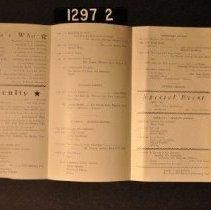 Image of 1995.2.1297.2  Program, open