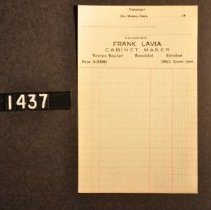 Image of 1995.2.1437 Form, Frank Lavia, Cabinet Maker