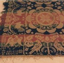 Image of 3071 Adam Yearous Coverlet 1848, detail