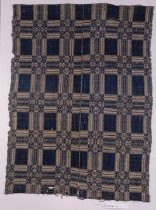 Image of 1891 Woven Coverlet