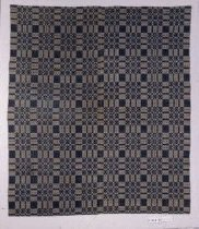 Image of 1892 Woven Coverlet