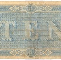Image of IC 98.3.41 Confederate Note, back