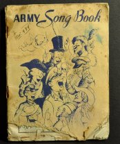 Image of 484 Army Song Book