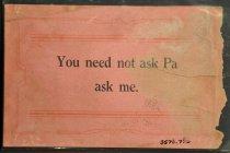 Image of 3570.770 Postcard