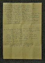 Image of 3010 Handwritten note