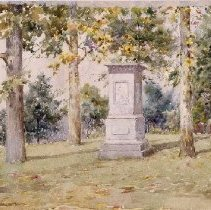 Image of Painting - Daniel Boone's Grave