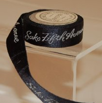 Image of Tag, Merchandise - Roll of Saks Fifth Ave. accessories tag