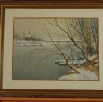 Image of Painting - Winter in Kentucky