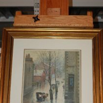 Image of Painting - A Rainy Day in Frankfort