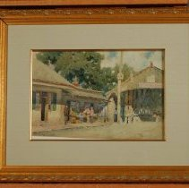 Image of Painting - South End, Old Covered Bridge