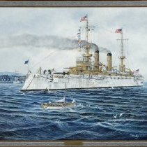 Image of Painting - USS Kentucky