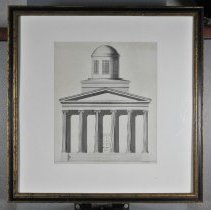 Image of Drawing - Elevation of Old Capitol