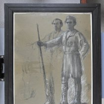 "Image of Drawing - ""Daniel Boone/ Treaty of Watuaga"