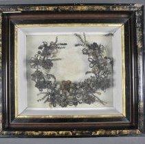Image of Wreath, Hairwork