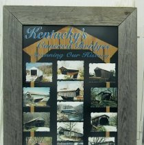 "Image of Poster -  ""Kentucky's Covered Bridges"""
