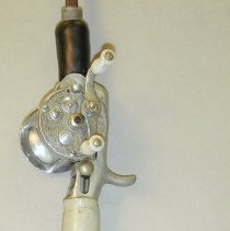 Image of Reel, Fishing - Baitcasting rod & reel