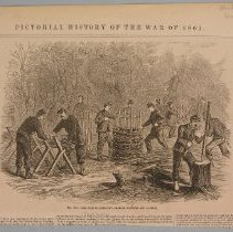 """Image of Print - Magazine illustration, """"No. 459 The War in Kentucky"""""""