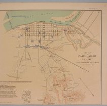 """Image of Map - Map, """"Paducah, KY. and Vicinity"""""""