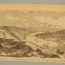 "Image of Print - Magazine illustration, ""No. 367--Fortifications of Cincinnati"""