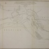 Falls Of The Ohio Map.Map Map Plat Of The Falls Of The Ohio River