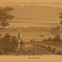 "Image of Print - ""View of Louisville"""