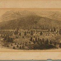 "Image of Print -  ""Esculapia Springs, KY."" (Sulphur Springs)"