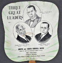 Image of Fan, Fixed - Three Great Leaders