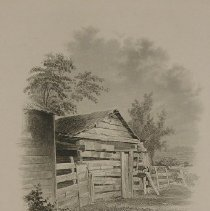 "Image of Print - Book illustration, ""Early Home of A. Lincoln"""