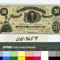 Image of Note, Confederate