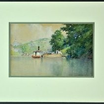 Image of Painting - Kentucky Old State Arsenal from the River