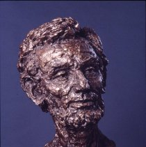"Image of Bust - ""Meet Mr. Lincoln"" bust"