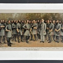 Image of Lithograph - Lee and His Generals