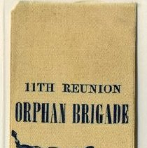Image of Ribbon, Commemorative - Ribbon, 11th Orphan Brigade Reunion