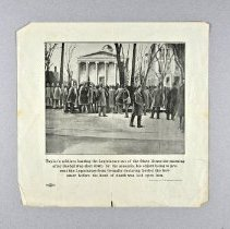 Image of Print - Taylor's Soldiers Barring the Legislature
