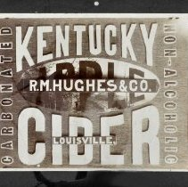 Image of Poster - Broadside, Kentucky brand cider