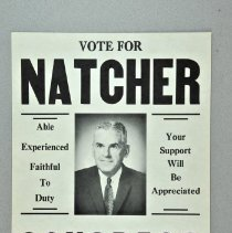Image of Poster, Political - Vote for Natcher