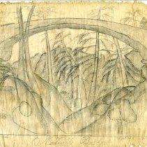 Image of Drawing - Natural Bridge