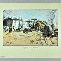 Image of Print - The Rail Dump at Menil-La-Tour