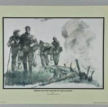 Image of Print - American Wounded Making Way To First Aid Station In The Village of Marne During German Attack