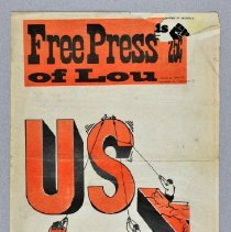 "Image of Newspaper - Newspaper, ""Free Press of Louisville"" vol. 1 no. 10"